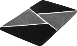 Kleine Wolke CLASSIC Hailey Badmat Zwart/Antraciet