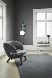 Vloerkleed Scandinavisch 'Angelica' Grijs/Zwart