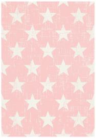 Vloerkleed Outdoor/Indoor Stars 'Miami' Roze 120x170cm