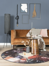 Vloerkleed  Modern 'Remy' Multikleur Rond