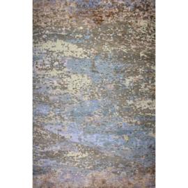 Vloerkleed VKW  Prestigieux 'Paisley' Lunar Grijs/Blauw/Bruin/Beige