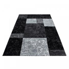 Vloerkleed VKW Brillante 'Volterra' Zwart
