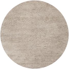 Vloerkleed VKW Écrasement Gemêleerd 'Orianne' Ivory Rond 220x220cm