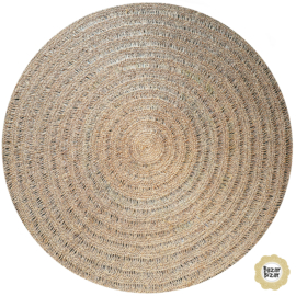 Vloerkleed Natuurlijk  'The Seagrass Carpet' Natural Rond Ø100