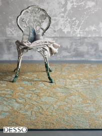 Vloerkleed Precious 'Moments' Gold 200x300cm