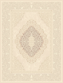Vloerkleed Klassiek 'Zarah Nouri' Beige/Crème