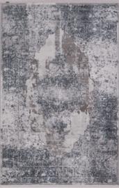Vloerkleed Klassiek 'Chrysant' Blauw