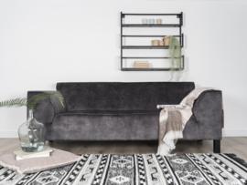Vloerkleed Scandinavisch 'Cristal' Grijs/Zwart 160x230cm