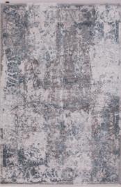 Vloerkleed Klassiek 'Chrysant' Grijs/Blauw
