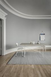 Vloerkleed Scandinavisch 'Erica' Houtskool/Off-White