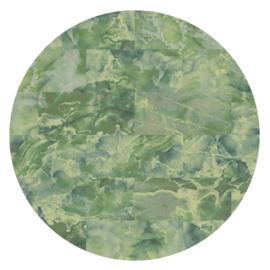 Vloerkleed Rond Sense of Marble 'Marmer'  Green Onyx