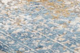 Vloerkleed VKW Tremendous 'Bestseller Cava' Grijs/Blauw