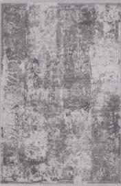 Vloerkleed Klassiek 'Chrysant' Grijs