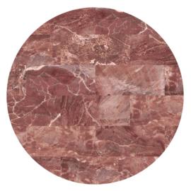 Vloerkleed Rond Sense of Marble 'Marmer'  Rosa