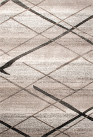 Vloerkleed Modern  'Gabeh' Grijs/Créme