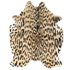 Koeienhuid Safari Collection Jaguar 180x200cm
