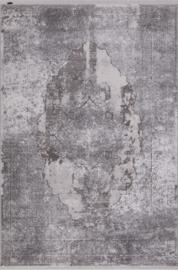 Vloerkleed Klassiek 'Chrysant Ezra' Grijs