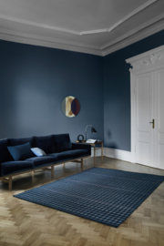 Vloerkleed Scandinavisch 'Lotus Mahogany' Blauw