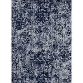 Vloerkleed Bonaparte Vintage 'Shades'  Blauw/Grijs