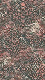 Vloerkleed Design 'Mozaic & Fresco' Rood