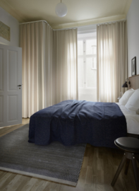 Vloerkleed Scandinavisch 'Calla' Beige/Blauw
