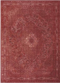 Vloerkleed VKW Glorieusement Vintage 'Cimarosa' Donkerrood