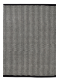Vloerkleed Scandinavisch 'Gro' Zwart/Off-White