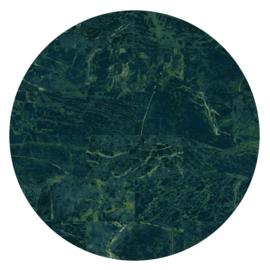 Vloerkleed Rond Sense of Marble 'Marmer'  Emerald