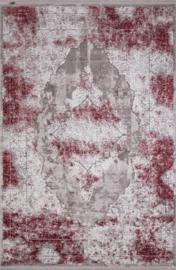 Vloerkleed Klassiek 'Chrysant' Rood