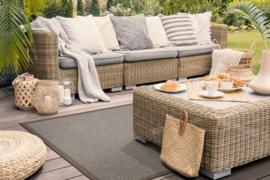 Vloerkleed Outdoor/Indoor 'Taffino Tweed ' Grijs