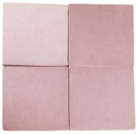 Misioo Speelmat  Vierkant Roze 120x120cm