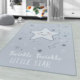 Vloerkleed VKW United Colors 'Kids Story Little Stars' Grijs