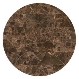 Vloerkleed Rond Sense of Marble 'Marmer'  Emperador