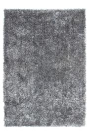 Vloerkleed VKW Supreme  Hoogpolig 'Twister' Grijs/Wit