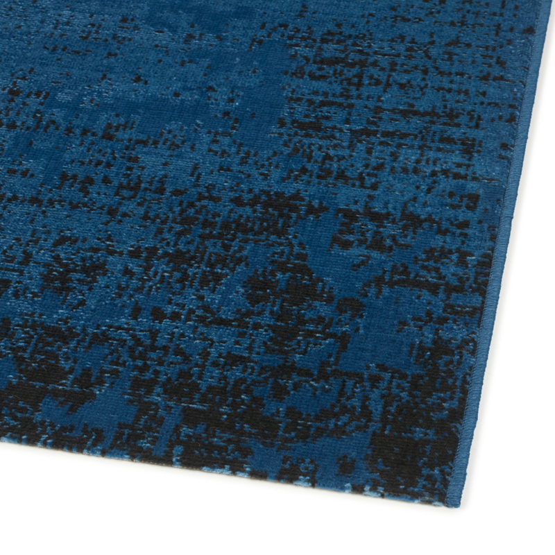 Vloerkleed Vintage 'Milano' Nachtblauw