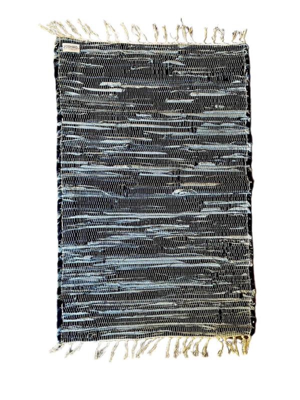 Vloerkleed Scandinavisch 'Dhunat' Blauw 60x90cm