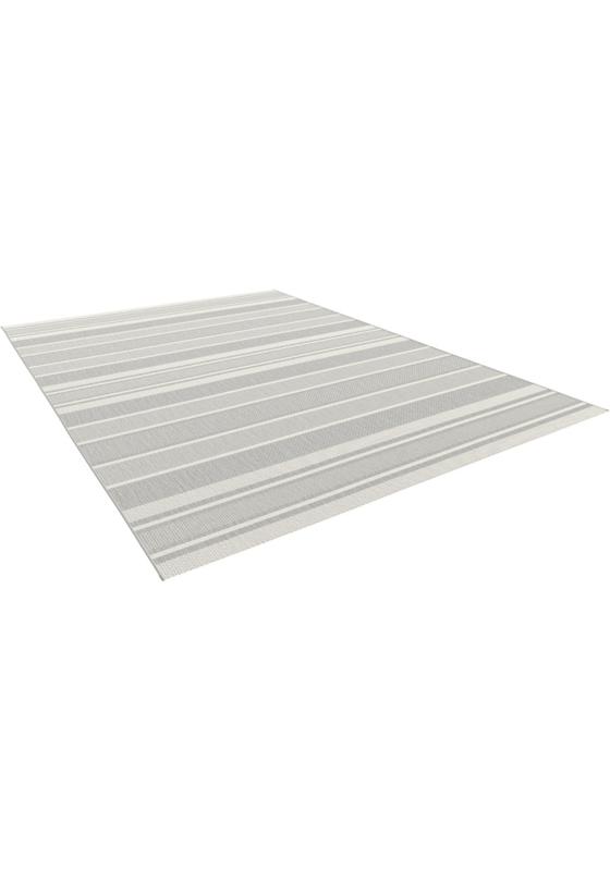 Vloerkleed Outdoor/Indoor 'Miami' Lichtgrijs 160x230cm