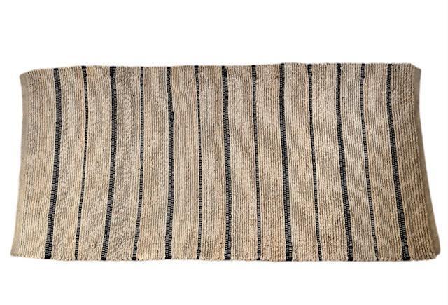 Vloerkleed Natuurlijk 'Cox' Naturel/Antraciet 70x150cm