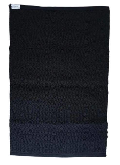 Vloerkleed Scandinavisch 'Yunnan' Zwart 60x90cm