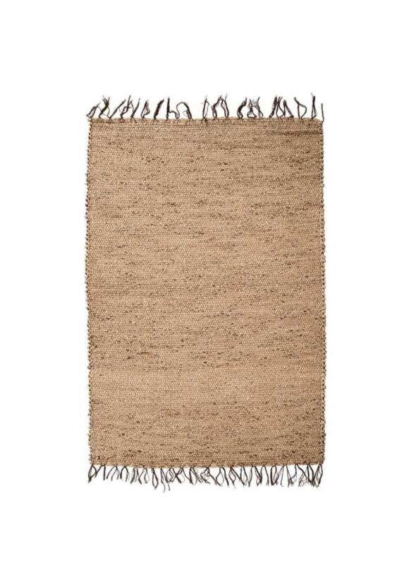 Vloerkleed Natuurlijk  'The Killing Field Carpet' Natural 90x60cm