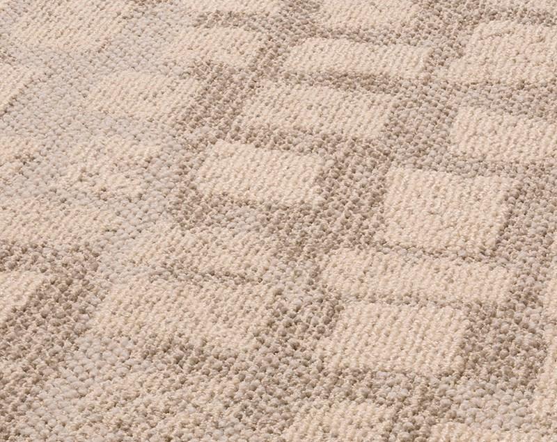 Vloerkleed  Desso 'Blocks'  Zand 200x300cm