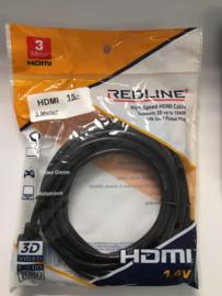 RedLine HDMI 3 meter