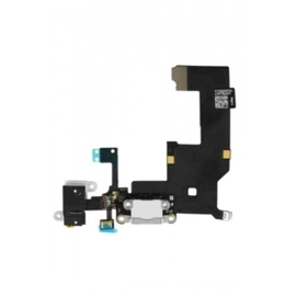 iPhone 5 Dock Laderport flex unit + microfoon (zwart)