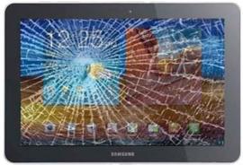 LCD en glas vervangen