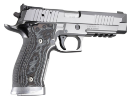 SIG Sauer P226 SAO X5 X6 Piranha Grip G10 - G-Mascus Black/Gray SKU33137