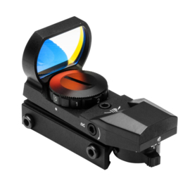 NCstar Red Four Reticle Reflex Optic BLACK