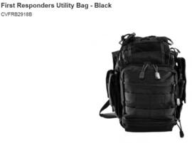 First Responders Utility Bag - Black