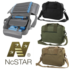 NCStar double pistol range bag