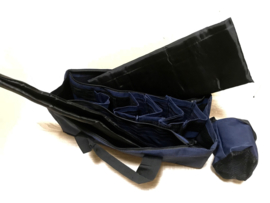 Expert Range Bag - Blue with Black Trim