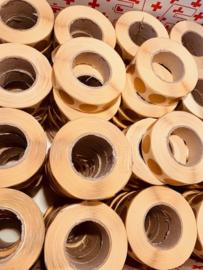 Plakkers voor IPSC schijven Rond 20mm 1000 stuks per rol